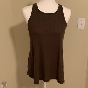 Free People Olive Green tank Size M